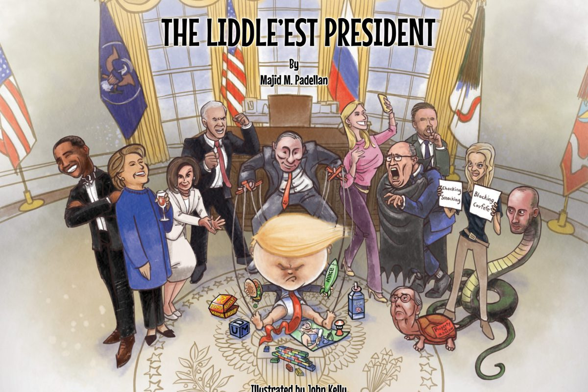 "BEATLANTA BOOK CLUB :: ""The Liddle'est President"" by comedian, activist and social commentator Brooklyn Dad Defiant"
