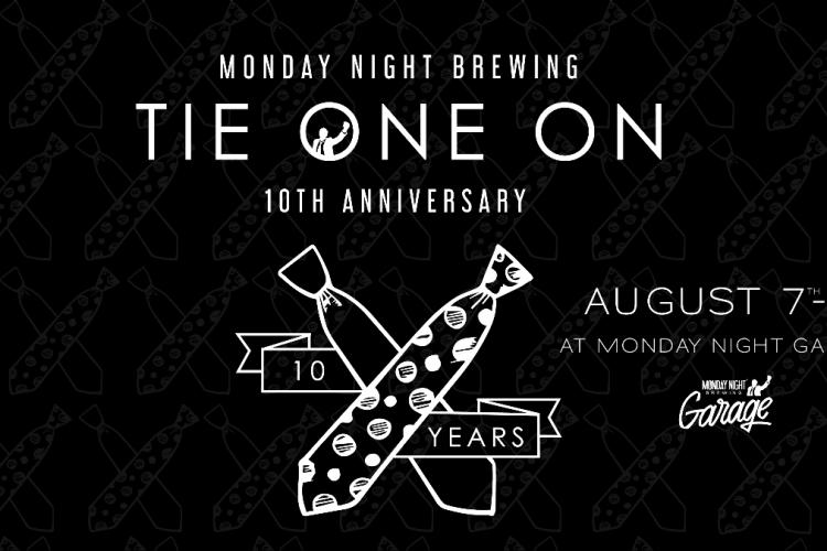 "<span class=""hot"">Hot <i class=""fa fa-bolt""></i></span> #beerAtlanta :: Monday Night Brewing's 10th Anniversary – 'Tie One One' – Sat & Sun, Aug 7th & 8th, 2021"